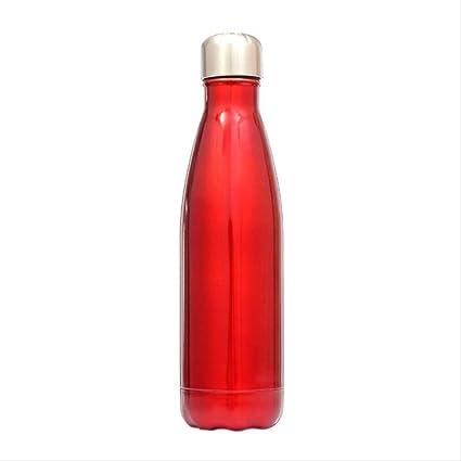 HPADR Botella de Agua 500 Ml Acero Inoxidable Taza De Agua ...