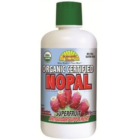 Dynamic Health Organic Certified Juice Blend, Nopal, 33.8 Fluid Ounce, Health Care Stuffs