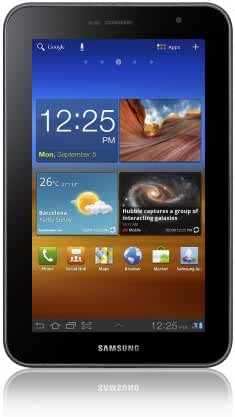 Samsung Galaxy Tab 7.0 Plus 16GB (Dual Core, Universal Remote, WiFi)