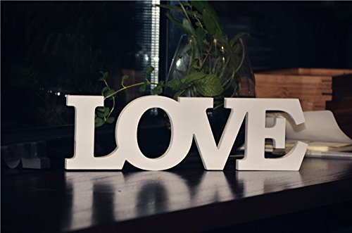 Love wooden words letters wedding decoration present table quotlovequot wooden words letters wedding decoration present table decor junglespirit Gallery