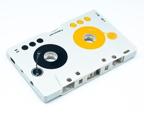 QUMOX Adaptador cinta de cassette de coche + Reproductor de MP3 con ranura SD USB: Amazon.es: Electrónica