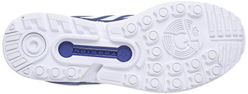 Ftwr White Marine White Flux Dark da Scarpe ZX Unisex Adulto Blau Ginnastica Ftwr adidas 64R7A7