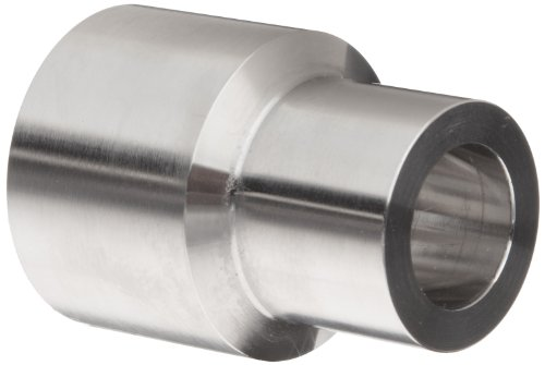 Parker Weld-Lok 8-3/4 AW-SS Stainless Steel 316 Socket Weld Tube Fitting, Adapter, 1/2' Tube OD x 3/4' Pipe Size, 0.73' Bore