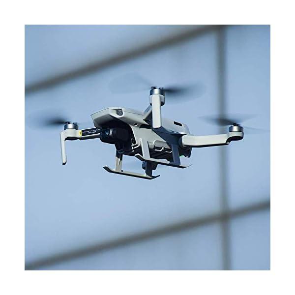 Linghuang Carrello di Atterraggio Esteso Proteggi Gambe Estensione per DJI Mavic Mini / Mini 2 Drone Accessori 6 spesavip