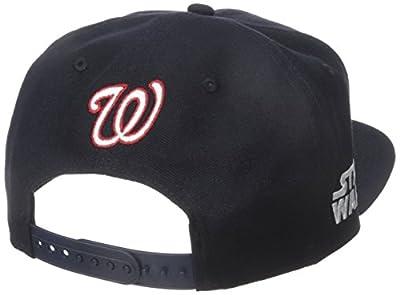 New Era Cap Men's Logo Swipe Washington Nationals Star Wars 9Fifty Snapback Cap