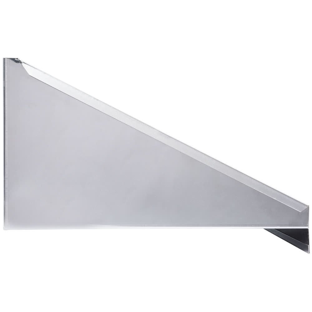 Stainless Steel Microwave Shelf - 24x18/24x24 - Professional/Commercial Grade NFS Certified (18'' x 24'')