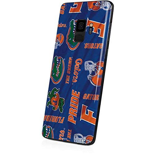 Amazon.com: Skinit Florida Gators Pattern Galaxy S9 Skin - Officially Licensed College Phone Decal - Ultra Thin, Lightweight Vinyl Decal Protection: Cell ...