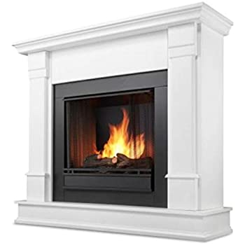 Amazon.com: Cambridge Sienna Fireplace Mantel with Electronic ...