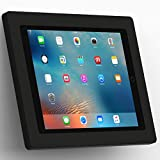 VidaMount Black Enclosure and Fixed Tilted 15° Wall Mount [Bundle] Compatible with iPad Pro 12.9'' (1st/2nd Gen)