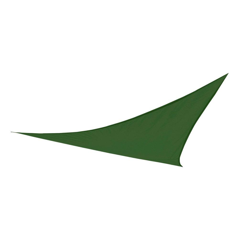 Aktive Dreieckige Sonnensegel f/ür Garten COLORBABY 53907 360/x 360/x 360/cm Polyester gr/ün
