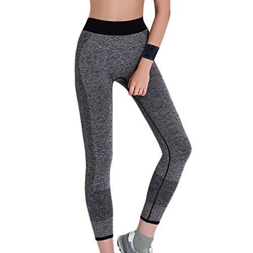 系統的納得させる踊り子Uniloveスポーツレギンスの女性のロングワークアウトヨガ伸縮性タイツパンツ