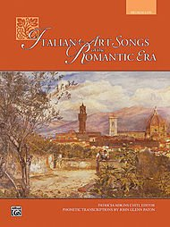 Italian Art Songs of the Romantic Era Book Voice Ed. Patricia Chiti