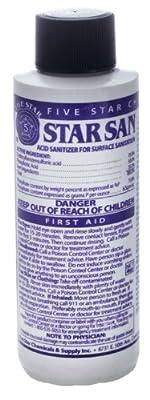 Star San Sanitizer 4 oz.
