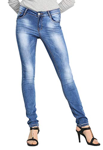 LUSI MADAM Women's Ideal Skinny Denim Jeans (W208, for sale  Delivered anywhere in Canada