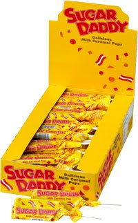 (Sugar Daddy Pops (Small - 0.47oz): 48 Count)