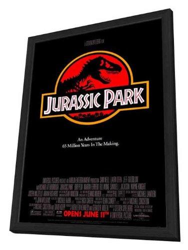 Jurassic Park Framed Movie Poster