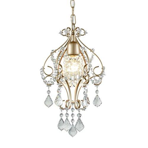 Dazhuan Modern Crystal Chandelier Champagne Gold Pendant Light Dinning Room Ceiling Lighting Fixture