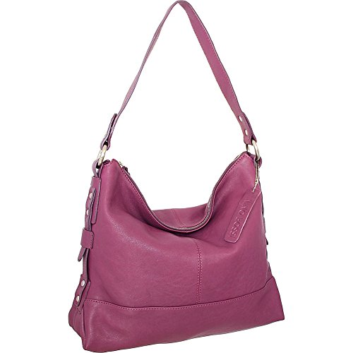 Nino Bossi Emmy Shoulder Bag (Plum) by Nino Bossi