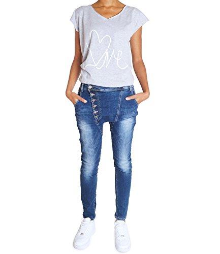 Tapered Avenue Bleu Jeans Femme Bleu 62nd BEwqz86
