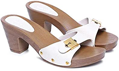 Ceyo Beige Heel Sandal For Women
