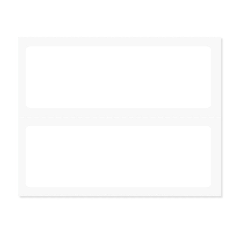 PDC Healthcare LS7008 Chart Labels Thermal, 3'' x 1'', 1'', White, 700 per Roll, 8 Rolls per Case (Pack of 5600)