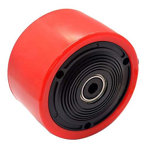 SODIAL 8352 83Mm Skateboard Motor Brushless Outrunner Hub Motor Pu Wheel DIY Electric ()