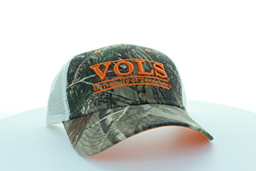 Tennessee Volunteers Camo Bar Hat with Mesh Trucker (Tennessee Volunteers Camo)