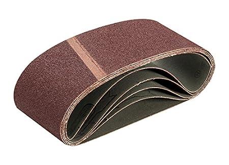 Triton TPTA12722139 75 x 457 mm 150 Grit Sanding Belt - Multi-Colour (Pack of 5)
