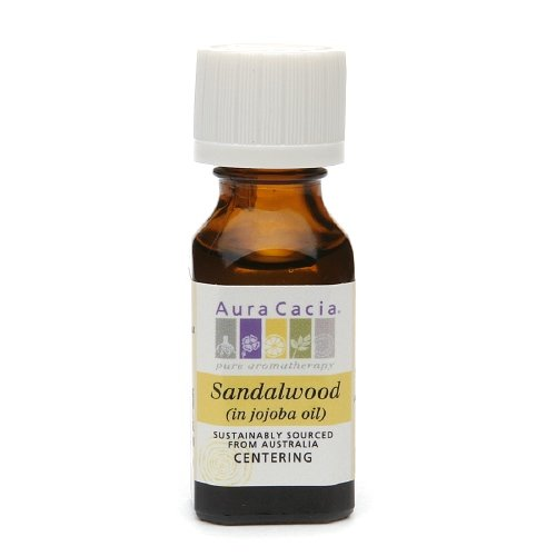 Aura Cacia Pure Essential Oil, Centering Sandlewood 0.5 fl oz (15 ml)