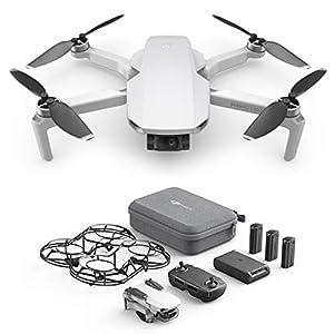 DJI Mavic Mini Combo – Drone Ultra-Léger et Ultra-Transportable, Autonomie de 30 minutes, distance de Transmission de 2…