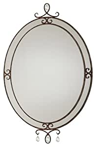 murray feiss bathroom mirrors murray feiss mr1058mbz 23 inch by 37 inch 19689