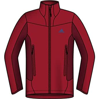 adidas OUTDOOR - Hiking 3in1 Climaproof Storm2 Jacket - Men's - Blue Beauty/Solid Blue � Large