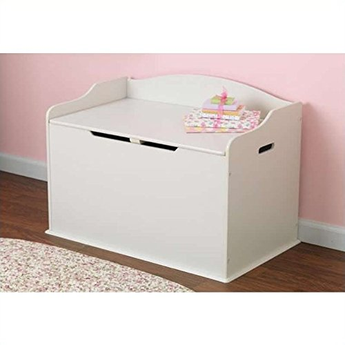 - KidKraft Austin Toy Box White