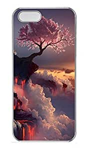 Case For Htc One M9 Cover Cherry Trees On The Cliff PC Custom Case For Htc One M9 Cover Cover Transparent