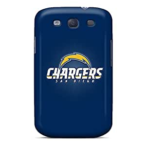 Protective Hard Cell-phone Cases For Galaxy S3 (FjD6697bfAy) Allow Personal Design Vivid San Diego Chargers Pictures