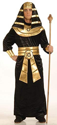 Forum Novelties Men's Pharaoh Costume, Black/Gold, Large -
