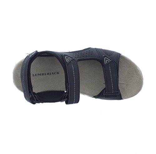 Velcro Sandalo R93 SM43006 002 Uomo Lumberjack Cb001 Nero qIRTUwPx