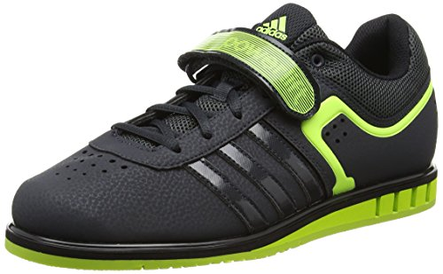 Zapatillas Core Adidas Unisex Dark Powerlift2 Solar Grey Gris Black Yellow 8qqCwv