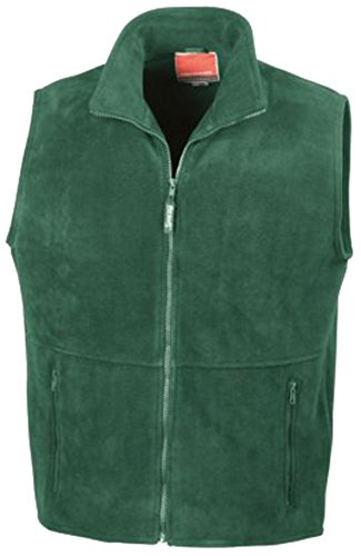 Verde Fleece verde hombre Active Outdoor Result chaleco qSH4nS