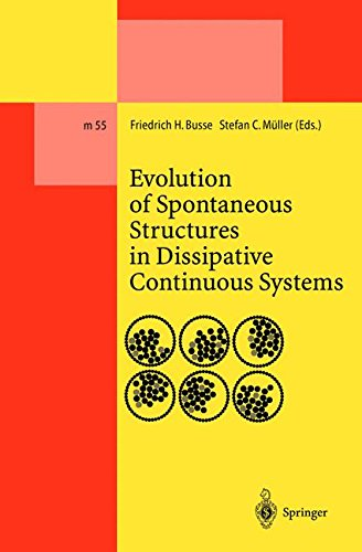 Evolution of Spontaneous Structures in Dissipative Continuous Systems (Lecture Notes in Physics Monographs)