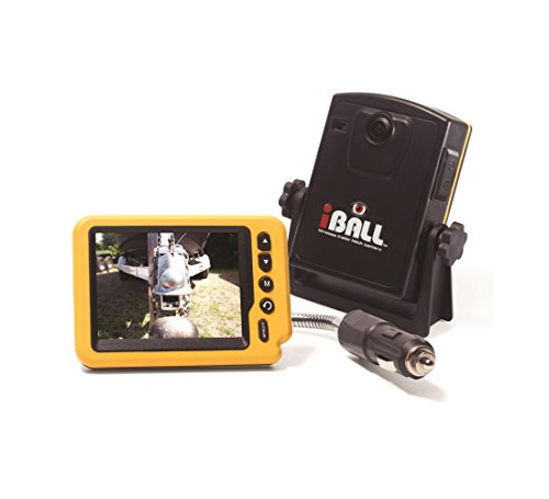 iBall Digital Pro Wireless Magnetic Trailer Hitch Rear View Camera LCD Monitor Fits Any Vehicle, Car or Truck (Pro Trailer)