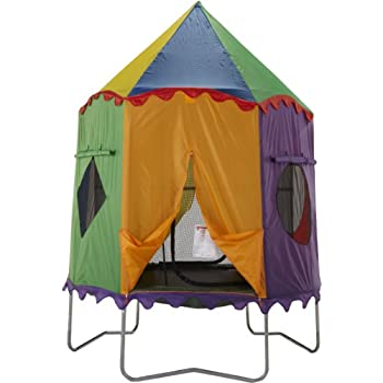 Bazoongi Circus Tr&oline Tent for 7.5-Feet Jump Pod  sc 1 st  Amazon.com & Amazon.com : Bazoongi Tree House Trampoline Tent for 7.5-Feet Jump ...