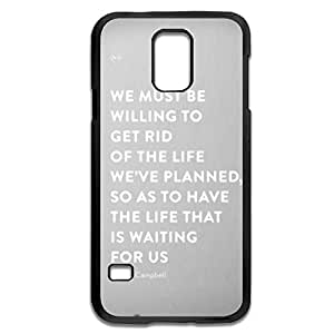 Samsung Galaxy S5 Cases Life Waiting US Design Hard Back Cover Cases Desgined By RRG2G