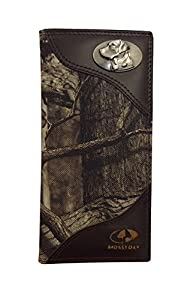Zeppelin Products Mossy Oak Emblem Camo Long Roper Nylon Wallet, Lab