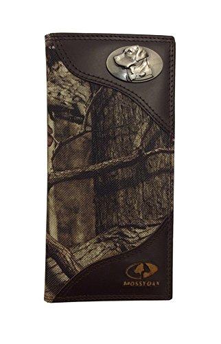 (Zeppelin Products Mossy Oak Emblem Camo Long Roper Nylon Wallet,)