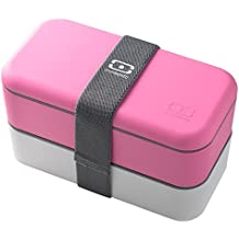 monbento-MB Original Bento Box, Pink/White