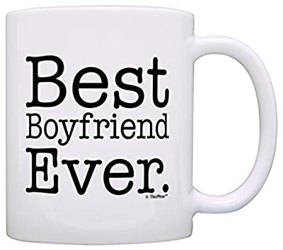 Boyfriend Gifts Best Boyfriend Ever Couples Gift Coffee Mug Tea Cup