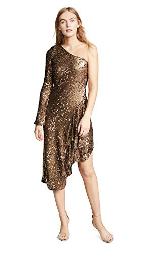 Maria Lucia Hohan Women's Zorya Dress, Bronze, 38