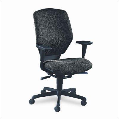 Series Resolution 6200 - HON 6212BW19T Resolution 6200 Series High-Back Swivel and Tilt Chair, Black/Iron Gray