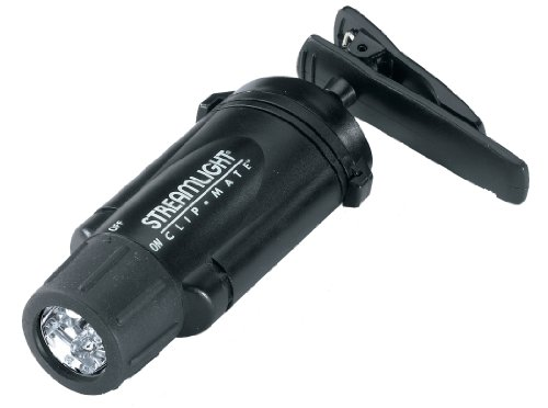 Streamlight 61101 ClipMate Ultra Bright Headlamp with Three White LEDs, Black - 27 Lumens